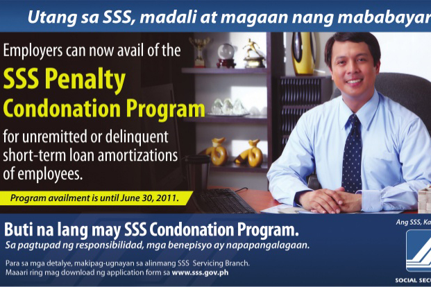SSS Condonation Law RA 9903 Signed