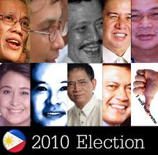 List of Candidates for President, Vice President and Senator for the 2010 Election